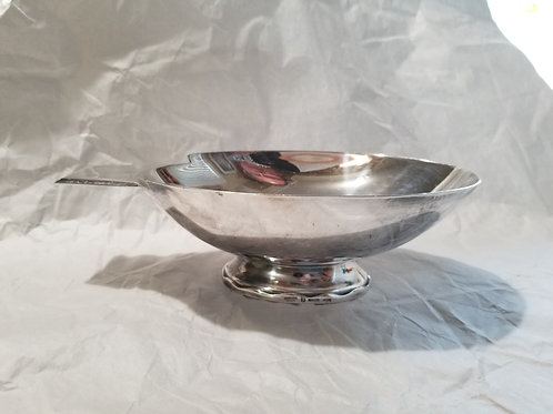 A rare Christofle Swan sauce boat