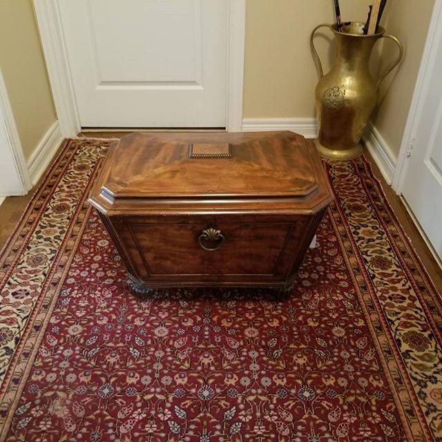 A very rare Regency period mahogany sarc