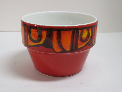 A Poole pottery Delphis planter stamped and signed