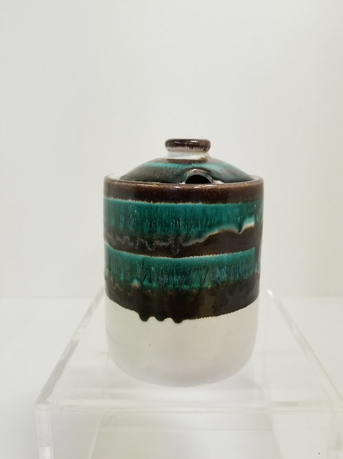 mid Century Pottery Jar