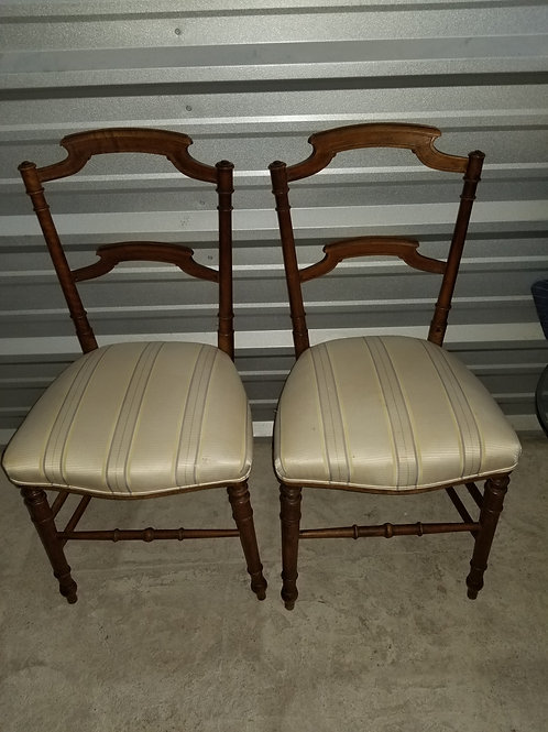 A Pair Of 19th Century Side Chairs