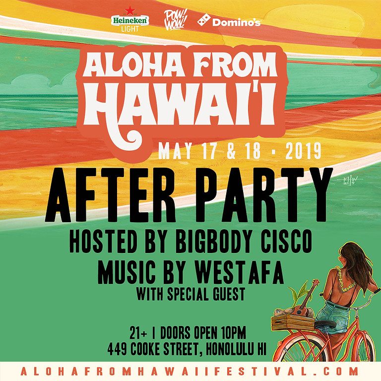 Aloha From Hawaii After Party (Day 2)