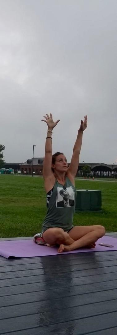 Outdoor Private Yoga, Liberty Landing Marina, Jersey City, NJ