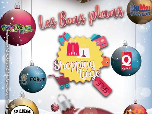 Les Bons Plans Shopping Liège pour les fêtes !