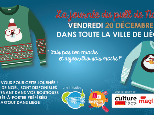 "Journée internationale du pull ""moche"" de Noël"