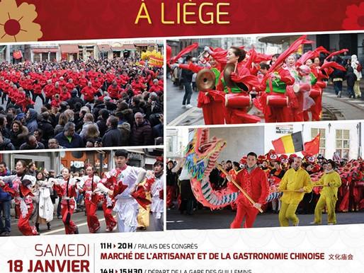 Liège fête le Nouvel An…chinois !