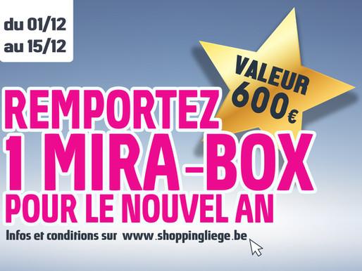 Remportez une Mira-Box à domicile pour le réveillon Nouvel An !
