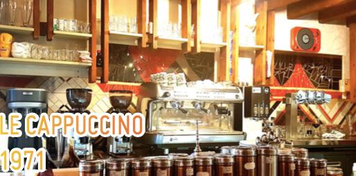 Le Cappuccino, un endroit cosy et qui dure!