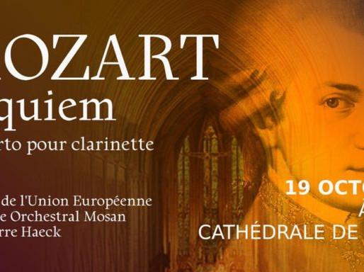 MOZART Requiem – Concerto pour clarinette
