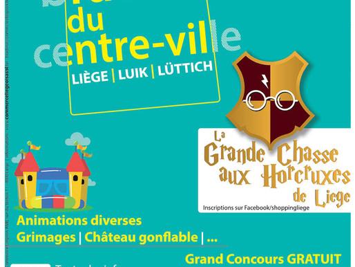 La Braderie du centre-ville de Liège 2019
