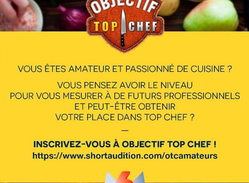 L'émission culinaire «Objectif Top Chef» recherche des liégeois pour son casting !!