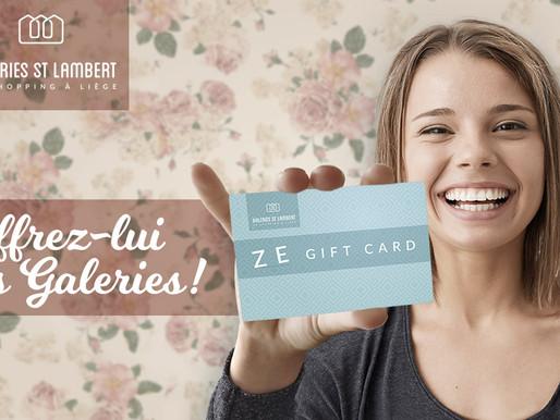ZE Gift Card, la nouvelle carte-cadeau des Galeries St Lambert