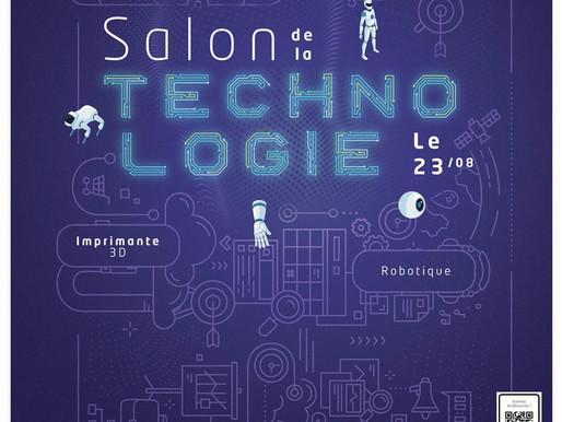 Salon de la technologie ce 23/08 dans votre galerie Madeiacité