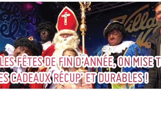 POUR LES FÊTES DE FIN D'ANNÉE, ON MISE TOUT SUR LES CADEAUX RÉCUP' ET DURABLES !