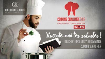 Cooking Challenge - Le grand concours de cuisine des Galeries St Lambert !