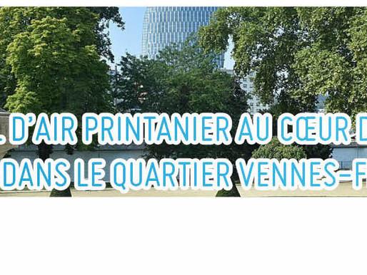 Pour un bol d'air printanier au cœur de la Ville : une balade dans le Quartier Vennes-Fétinne
