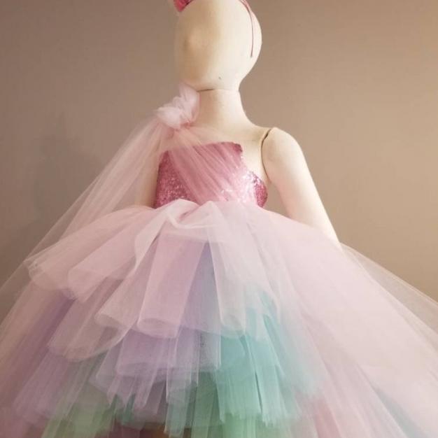 Alora Safari Gown