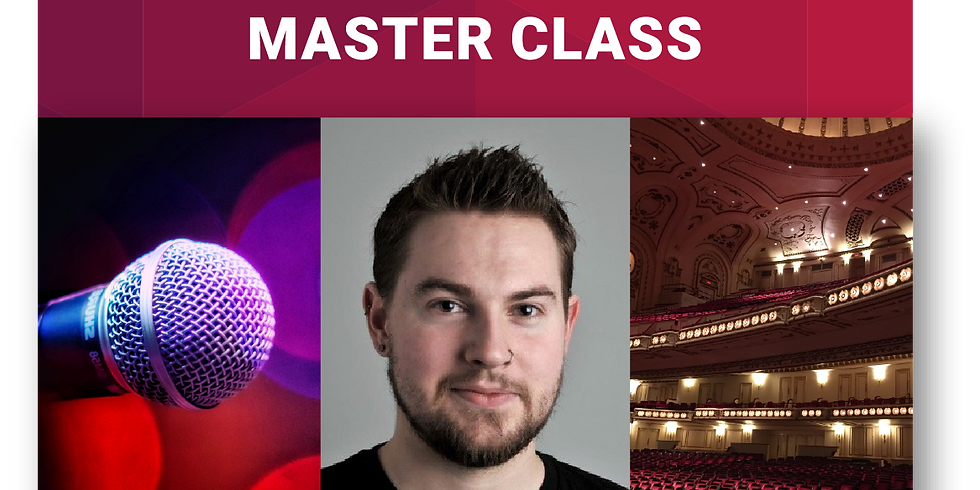 Musical Theatre Master Class with Blair Kelly