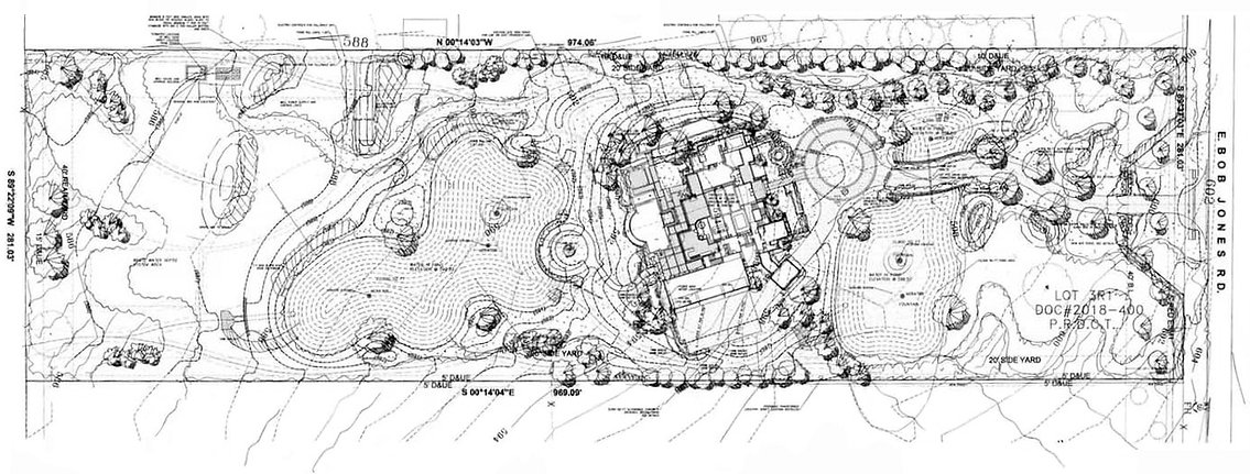 Landscape architecture design plans by Tom Pritchett