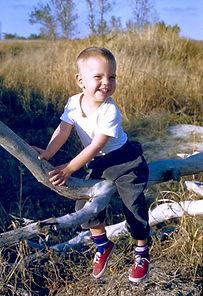 Landscape architect Tom Pritcet as a boy