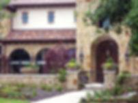 Beautiful landscape design at Vaquero community by landscape architect Tom Pritchtt