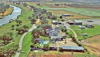 LBJ Ranch aerial view