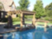 Amazing pool, pergola and landscape design by Tom Pritchett