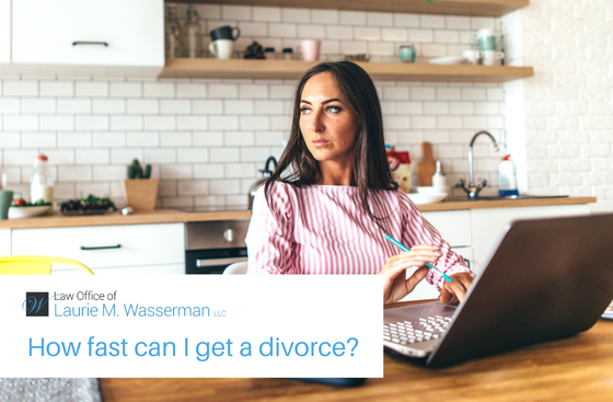 How Fast Can I Get a Divorce in Maryland?