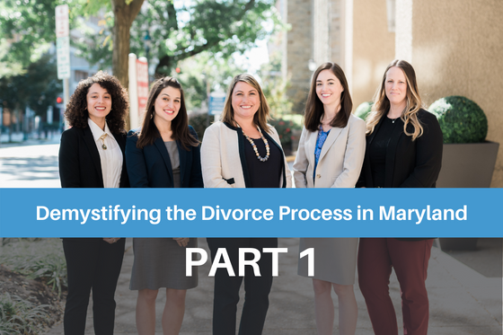 Demystifying the Divorce Process in Maryland: Part 1