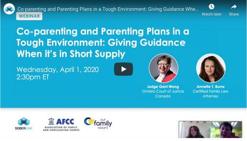 Soberlink Webinar Recap: Co-parenting and Parenting Plans in a Tough Environment