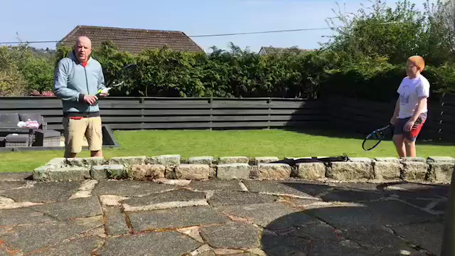 Andy Murray #100 Volley Challenge