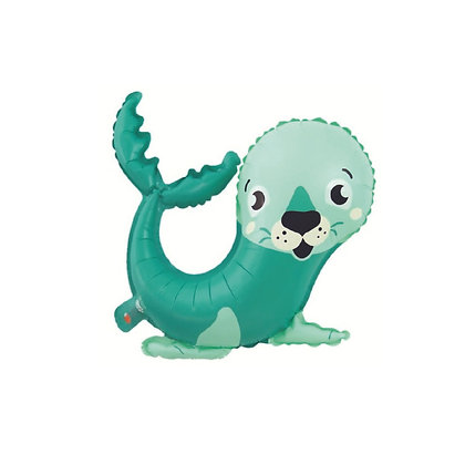 Balon Foil Anjing Laut Kartun