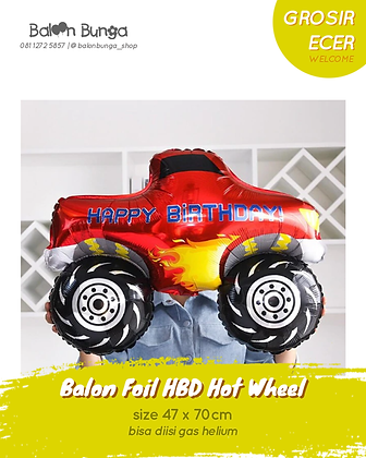Red Hot Wheel Birthday