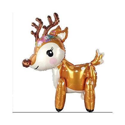 3D Reindeer Foil Balloon
