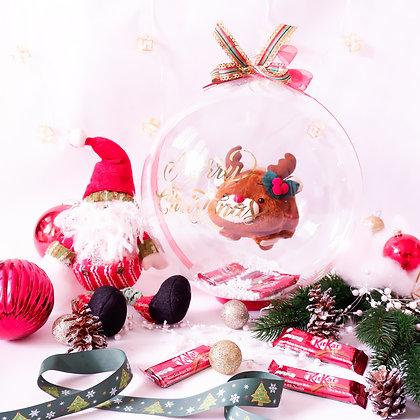 Snowball Bubble (Chubby Reindeer)