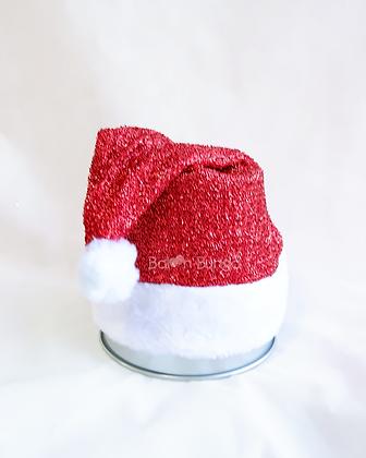 Santa Glitter Hat