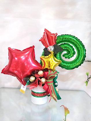 Christmas Foil Bouquet