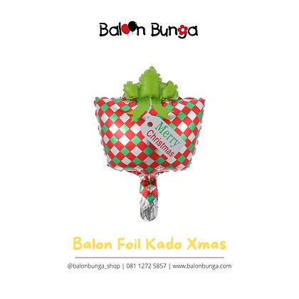 Balon Foil Kado Mini