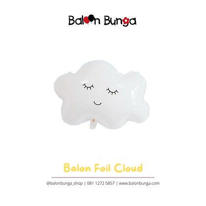 Balon Foil Awan Cloud