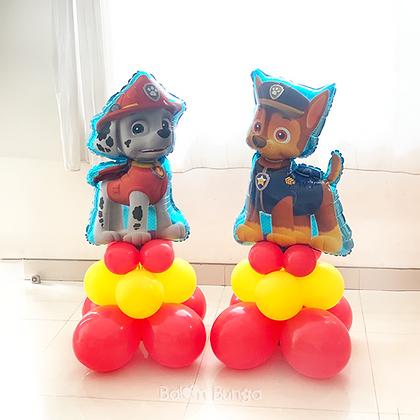 Standing Pendek (belum termasuk balon karakter)