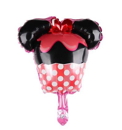 Balon Foil Mini Minnie Cupcake