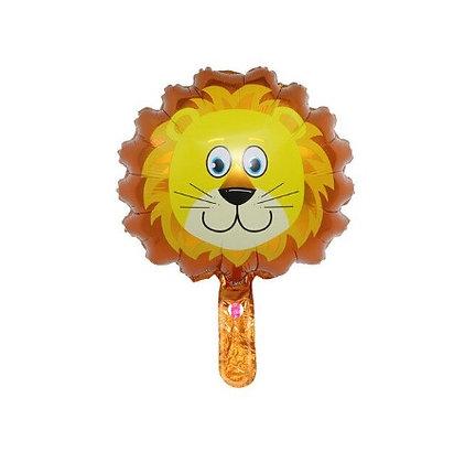 Balon Foil Kepala Singa Mini