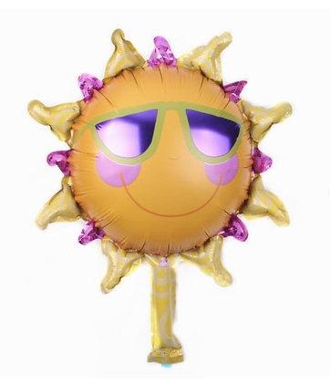Balon Foil Mini Matahari Kacamata
