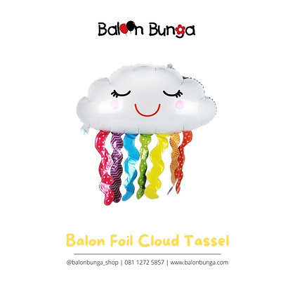 Balon Foil Cloud Tassel