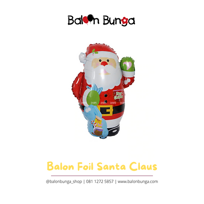 Balon Foil Santa Claus Sinterklas