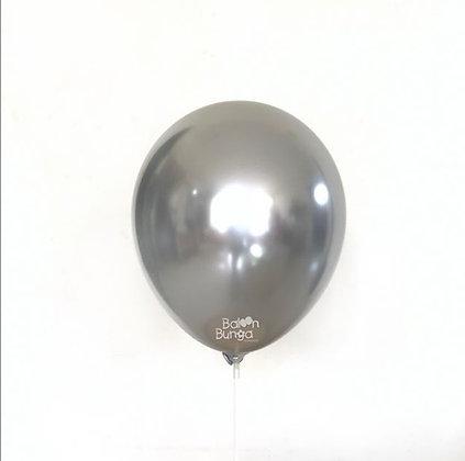 """11"""" Silver Chrome Balloons"""