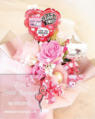 Mini Valentine Hand Bouquet