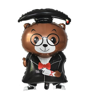 Balon Foil Teddy Bear Wisuda 2