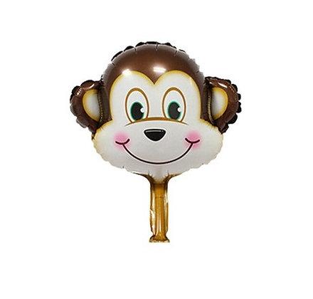 Balon Foil Kepala Monyet Mini