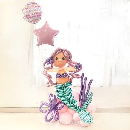 Balloon Art Mermaid